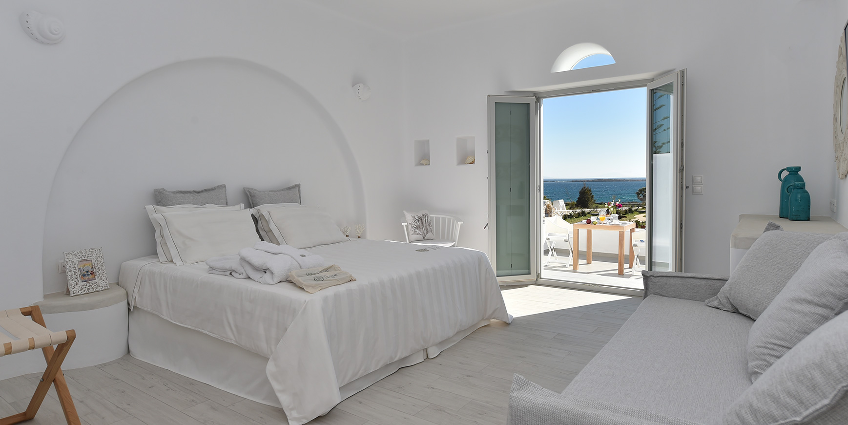 Paros Sea View Room