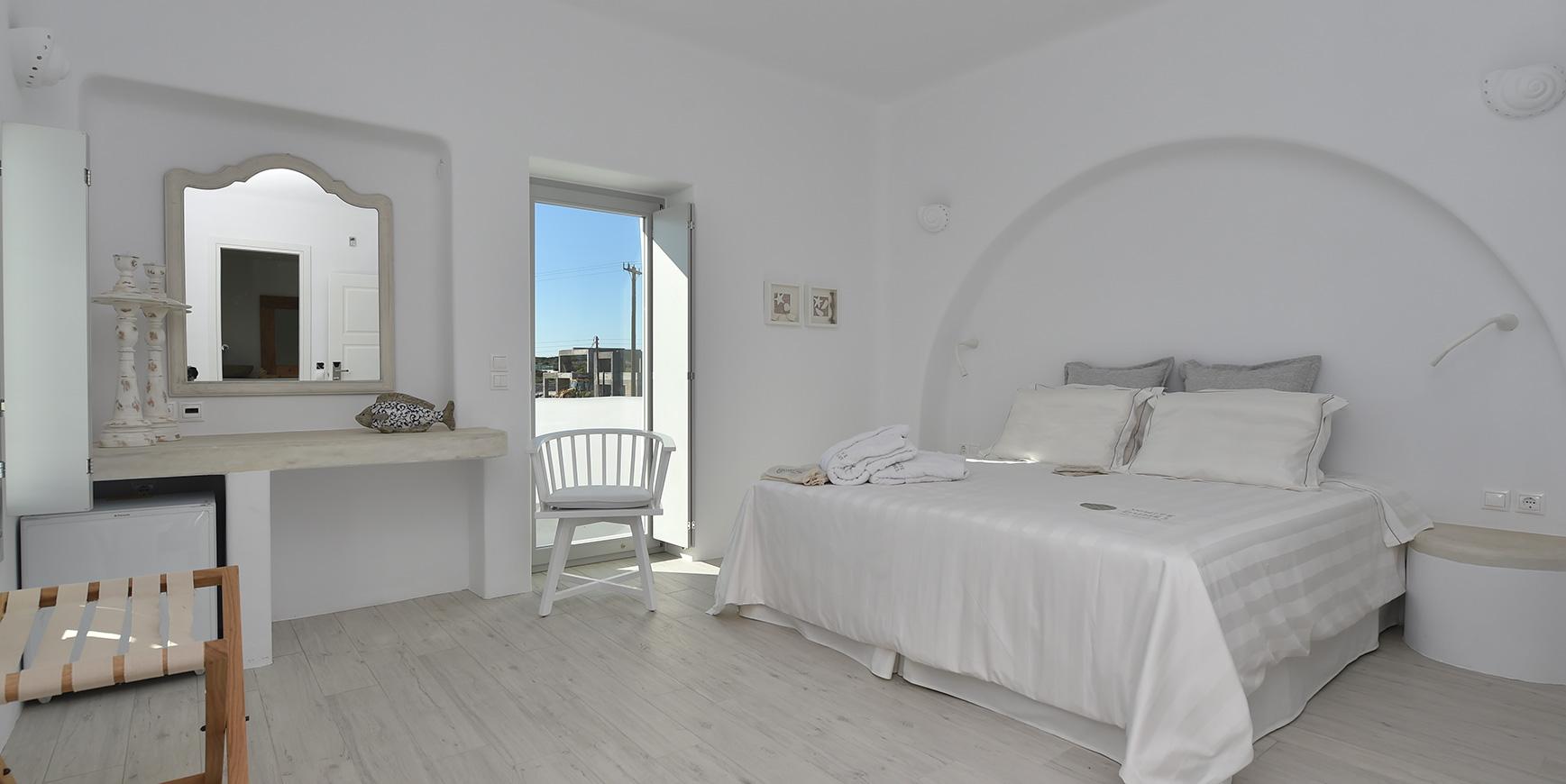 Luxury Hotel Room in Paros